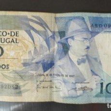 Billetes extranjeros: BILLETE 100 ESCUDOS PORTUGUESES (1987). Lote 157782822