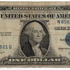 Billetes extranjeros: BILLETE 1 DOLAR AÑO 1935 SERIE 1935 E. Lote 158454110