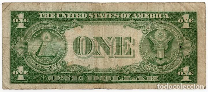 Billetes extranjeros: Billete 1 Dolar Año 1935 serie 1935 E - Foto 2 - 158454110
