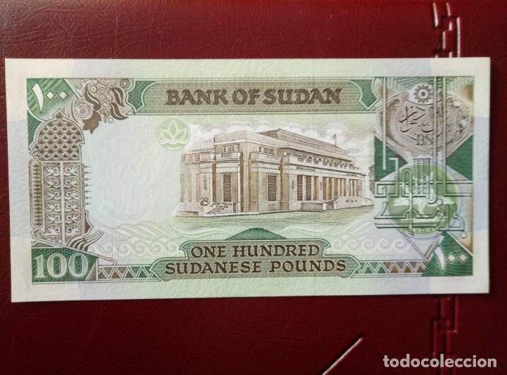 BILLETE DE SUDAN 100 LIBRAS SUDANESAS PLANCHA (Numismática - Notafilia - Billetes Extranjeros)