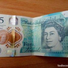 Billetes extranjeros: BILLETE DE INGLATERRA 5 LIBRAS. Lote 158584014