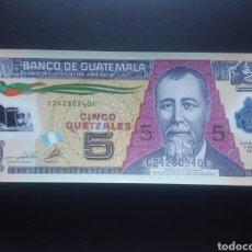 Billetes extranjeros: GUATEMALA 5 QUETZAL 2011 (POLIMERO) (SC) - ENVIO GRATIS A PARTIR DE 35€. Lote 158845450