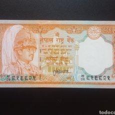 Billetes extranjeros: NEPAL 20 RUPIAS 1988 (SC) - ENVIO GRATIS A PARTIR DE 35€. Lote 158916394