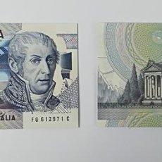 Billetes extranjeros: 22 BILLETES DE 10000 LIRE DIECIMILA. SIN CIRCULAR. ITALIA 1984. Lote 159182042
