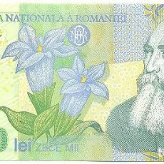 Billetes extranjeros: RUMANÍA - ROMANIA 10,000 LEI 2000 PK 112 A FIRMA GHIZARI UNC. Lote 159745002
