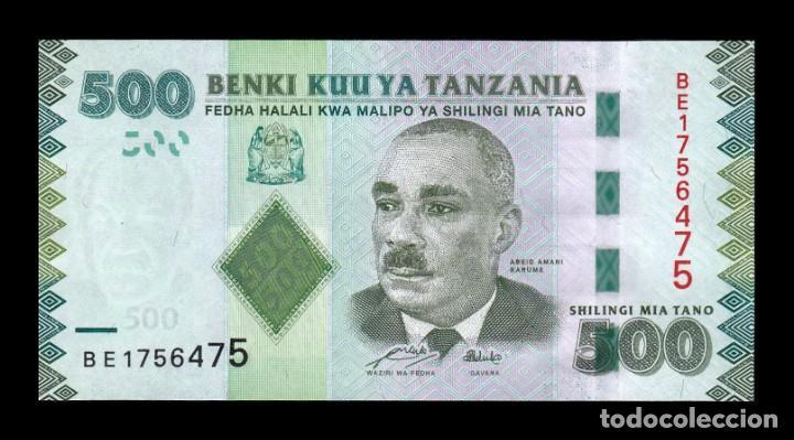 TANZANIA 500 SHILLINGS 2010 PICK 40 SC UNC (Numismática - Notafilia - Billetes Extranjeros)