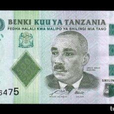 Billetes extranjeros: TANZANIA 500 SHILLINGS 2010 PICK 40 SC UNC. Lote 206972557
