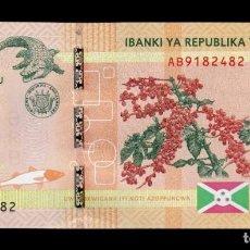 Billetes extranjeros: BURUNDI 500 FRANCS 2015 PICK 50 SC UNC. Lote 160678718