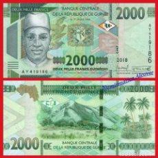 Billetes extranjeros: GUINEA 2000 FRANCOS 2018 (2019) PICK NUEVO - SC. Lote 237298710