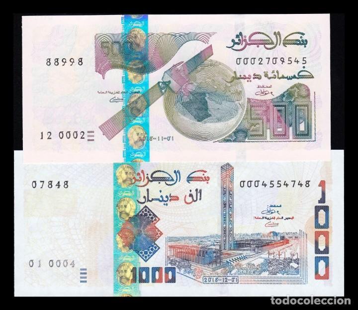 ALGERIA 1000 DINARS 2018 2019 P-NEW UNC