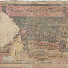 Billetes extranjeros: ARGELIA - ALGERIA 10 DINARS 1-1-1964 PK 123 A SERIE ESTILO FRANCÉS. Lote 161663918