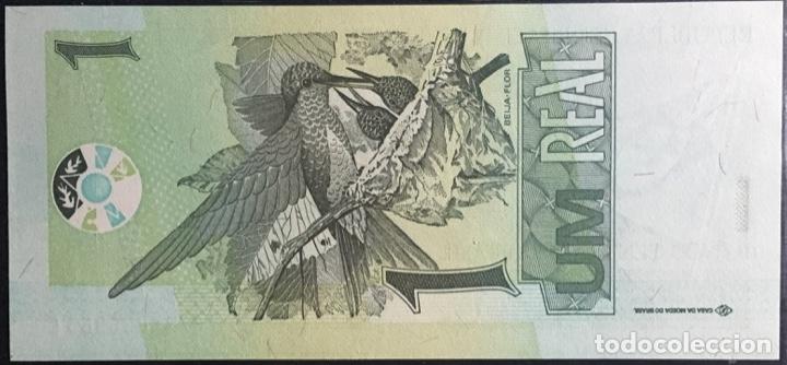 Billetes extranjeros: Brasil Billete 1 Real Año 2003, Pk251, UNC - Foto 2 - 162919542