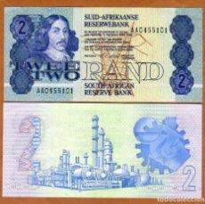 Billetes extranjeros: SUDAFRICA - 2 RAND - SIN FECHA (1990-1994) - PREFIJO AA - S/C. Lote 163418942