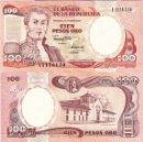 Billetes extranjeros: COLOMBIA - 100 PESOS ORO 1991 - SERIE Nº 11176129 - S / C - MIRE MIS OTROS LOTES Y AHORRE GASTOS. Lote 163818678