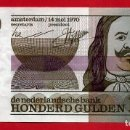 Billetes extranjeros: BILLETE HOLANDA , 100 GULDEN FLORINES 1970 , MBC++ , ORIGINAL , T262. Lote 164029682
