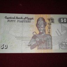 Billetes extranjeros: EGIPTO. 50 PIASTRAS. SC. Lote 195553847