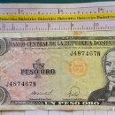 Billetes extranjeros: BILLETE DE LA REPÚBLICA DOMINICANA. AÑO 1988. INDUSTRIA AZUCARERA. 1 PESO ORO. Lote 164974658