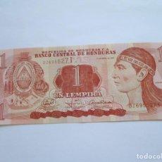 Billetes extranjeros: HONDURAS * 1 LEMPIRA 2008. Lote 165637822