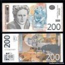Billetes extranjeros: SERBIA 200 DINARA 2013 PIK 58B S/C. Lote 165824682