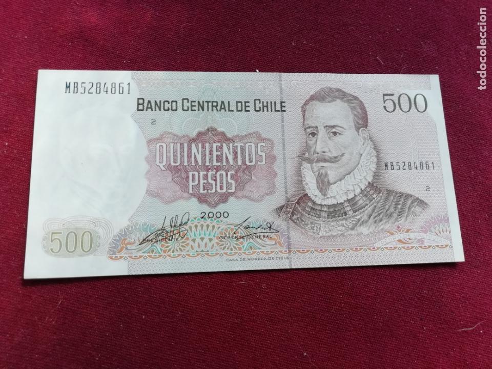 Chile Banknote 500 Pesos 1994 UNC