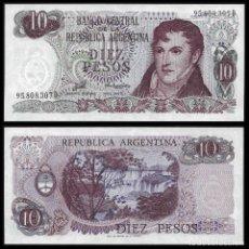 Billetes extranjeros: ARGENTINA 10 PESOS 1976 PIK 300 S/C. Lote 194628157