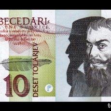 Billetes extranjeros: ESLOVENIA SLOVENIA 10 TOLARJEV 1992 PICK 11 SC UNC. Lote 119437538