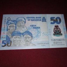 Billetes extranjeros: NIGERIA - 50 NAIRA 2016 SC. Lote 195437112