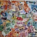 Billetes extranjeros: GRAN LOTE 150 BILLETES DEL MUNDO CALIDAD UNC TODOS DIFERENTES. Lote 167587898