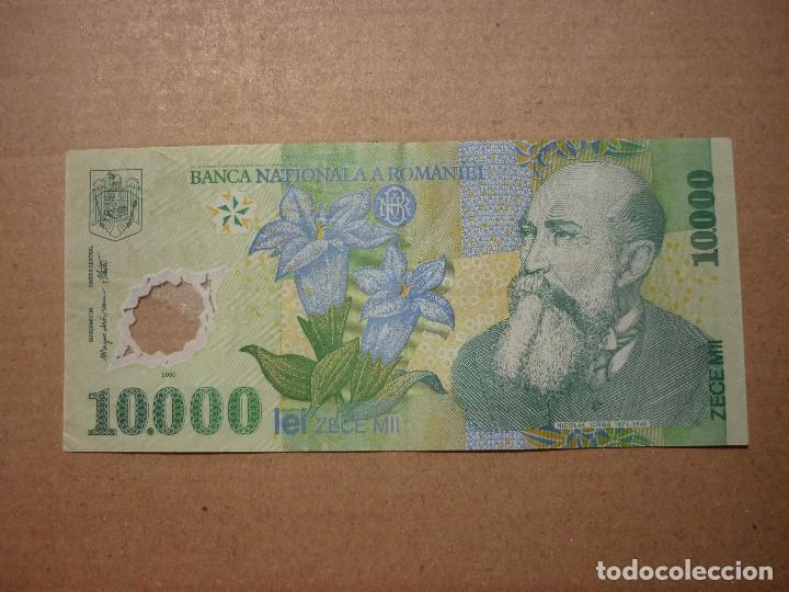 RUMANIA - 10000 LEI 2000 SC- (Numismática - Notafilia - Billetes Extranjeros)