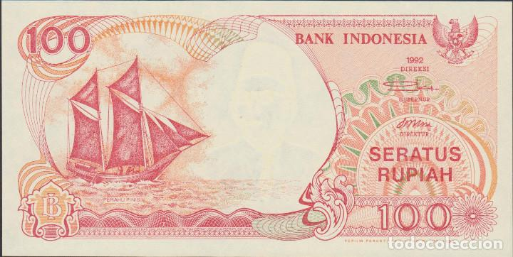Billetes extranjeros: BILLETES - INDONESIA 100 RUPIAS - 1992/92 - SERIE CAY087490 - PICK-127A (SC) - Foto 1 - 167964116