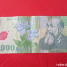 Billetes extranjeros: RUMANIA. BILLETE DE 10000 LEI.. Lote 168205724