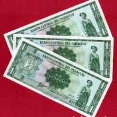 International Banknotes - 1 BILLETE URUGUAY , 1 GUARANI , SIN CIRCULAR PLANCHA , ORIGINAL - 168564333