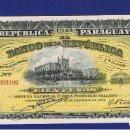 Billetes extranjeros: PARAGUAY : 100 PESOS ORO 1907 SERIE A. SC.UNC. PK. 159. Lote 168645848