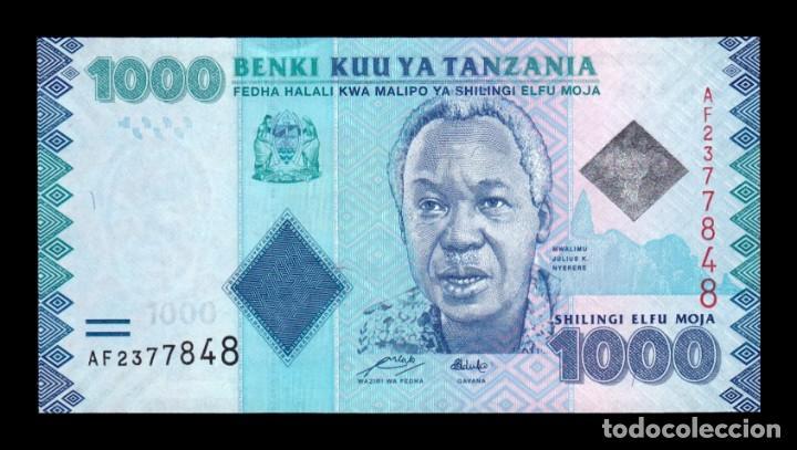 Tanzania 1000 shillings Banknote World Paper Money UNC Currency Pick p41 Bill