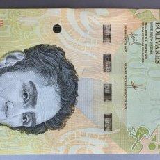 Billetes extranjeros: VENEZUELA. 500 BOLÍVARES 2018. Lote 168751057