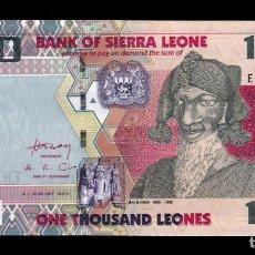 Billetes extranjeros: SIERRA LEONA LEONE 1000 LEONES 2013 (2016) PICK 30B SC UNC. Lote 206972458