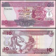 Billetes extranjeros: ISLAS SALOMON (SOLOMON) - 10 DOLLARS - SIN FECHA (1986) - S/C. Lote 170562402
