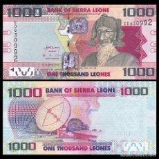 Billetes extranjeros: SIERRA LEONA (SIERRA LEONE) - 1000 LEONES - (4TH. AUGUST 2013) - S/C. Lote 183342508