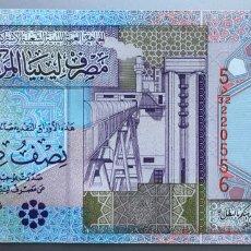 Billetes extranjeros: LIBIA 1/2 DINAR. Lote 170869092