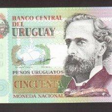 Billetes extranjeros: BILLETE DE AMERICA URUGUAY EL QUE VES 2015 PLANCHA . Lote 170967400