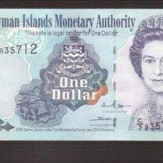 Billetes extranjeros: BILLETE DE AMERICA ISLAS CAIMAN PLANCHA 1 DOLARES 2006. Lote 171053895