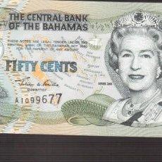 Billetes extranjeros: BILLETE DE AMERICA BAHAMAS PLANCHA . Lote 171054568