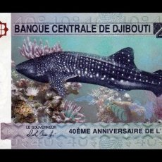 Billetes extranjeros: YIBUTI DJIBOUTI 40 FRANCOS CONMEMORATIVO 2017 PICK 46 SC UNC. Lote 210628542