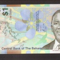 Billetes extranjeros: BILLETE DE AMERICA BAHAMAS PLANCHA . Lote 171054874