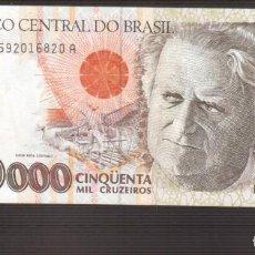 Billetes extranjeros: BILLETE DE AMERICA BRASIL PLANCHA . Lote 171350090