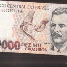 Billetes extranjeros: BILLETE DE AMERICA BRASIL PLANCHA . Lote 171350425