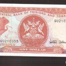 Billetes extranjeros: BILLETE DE AMERICA TRINIDAD AND TOBAGO PLANCHA . Lote 171355067