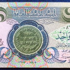 Billetes extranjeros: IRAQ BILLETE DE 1 DINAR DE 1984 S/C. Lote 171586333