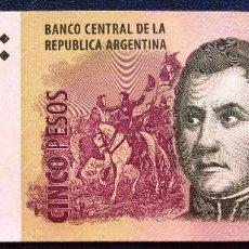 Billetes extranjeros: ARGENTINA BILLETE DE 5 PESOS DEL 2012 P-353 S/C. Lote 171586477