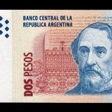 Billetes extranjeros: ARGENTINA 2 PESOS 2002 PICK 352 SERIE J SC UNC. Lote 221953883